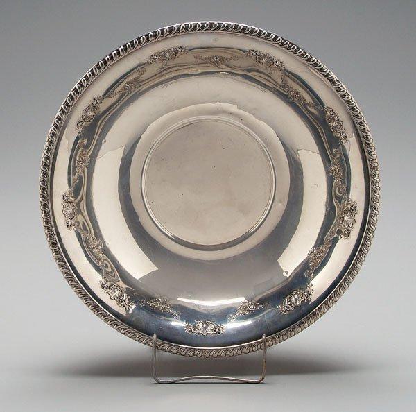 4: Sterling bowl,