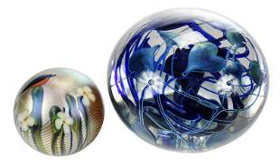 Charles Lotton, Orient & Flume Glass Paperweights