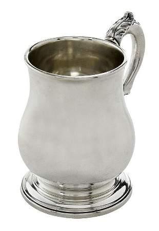 Paul de Lamerie English Silver Mug