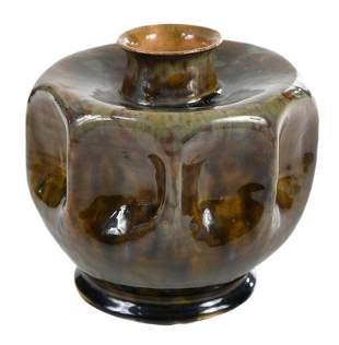 George E. Ohr Art Pottery Vase