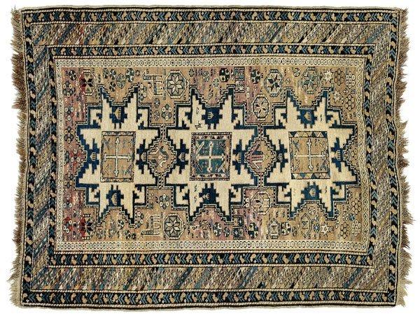 2: Caucasian rug,