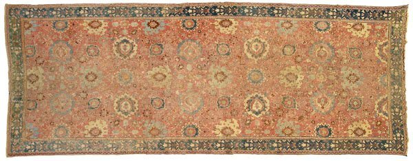 5: Northwest Persia carpet,