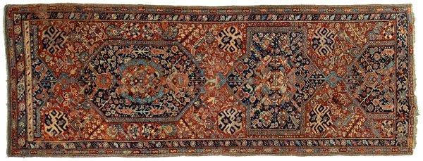 11: Ushak long rug,