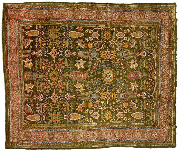 24: Ziegler Mahal carpet,