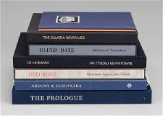 224: Eight artists folios/publications: