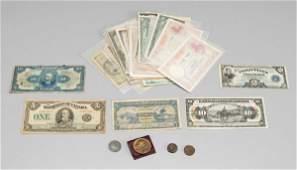 252 58 World banknotes