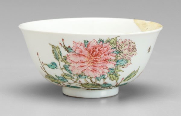 738: Chinese [famille rose] bowl,