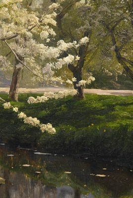 821: Peder Monsted painting - 5