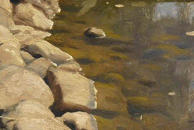 821: Peder Monsted painting - 6