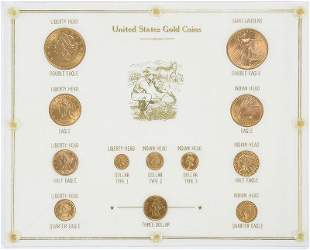United States Gold Type Set