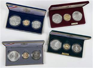Group of 1980s and 1990s Commemorative Coins