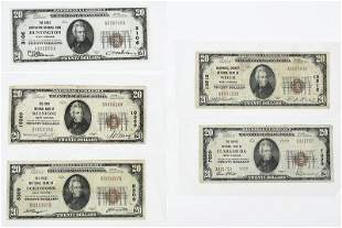 Five Small West Virginia National Notes