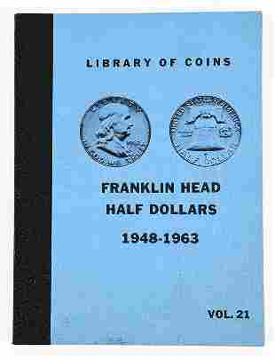 Set of Franklin Half Dollars