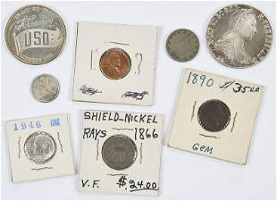 Assorted Group of U.S. Coins