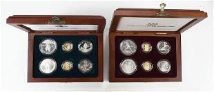 Two Modern Commemorative Sets