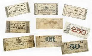 Group of Regional Virginia Notes