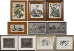 Ten Miscellaneous Prints