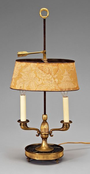 1: Bouillotte lamp,