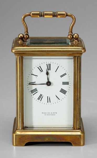 4: 18th century style carriage clock,