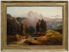 383 Hudson River School painting