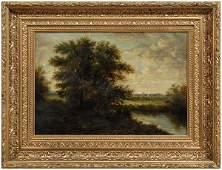 398: 19th century American School painting,