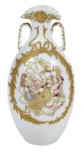 Mt. Washington Crown Milano Vase
