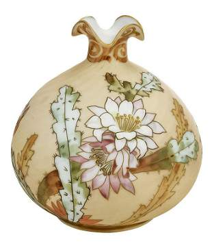 Mt. Washington Crown Milano Art Glass Vase