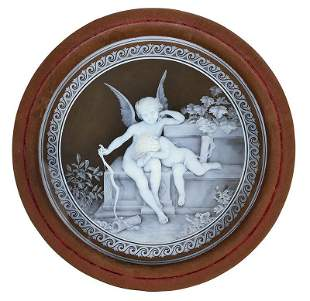 George Woodall for Thomas Webb, Cameo Plaque