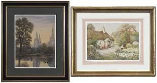 Two British School Landscapes