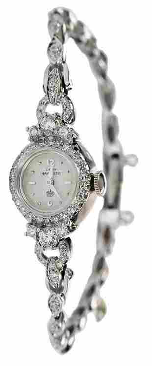 Hamilton 14kt. Diamond Watch