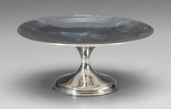 6: English silver cake stand,