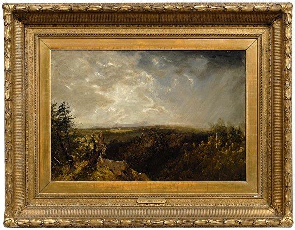 238: John Frederick Kensett painting,