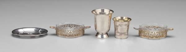 599: French, Russian, Norwegian silver: