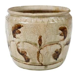 Rare Vietnamese Ceramic Jar