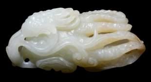Chinese Carved Jade Buddha's Hand Citron