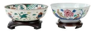 Two Asian Porcelain Bowls