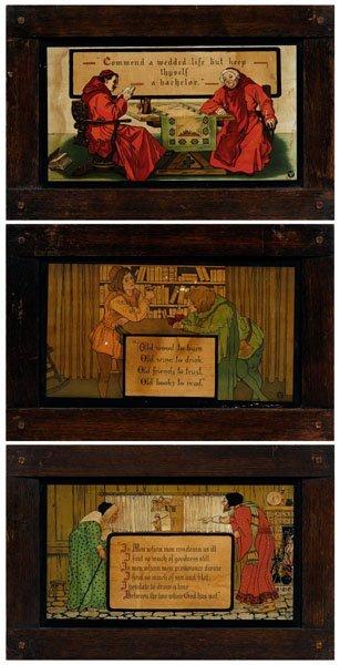 6: Three Arts and Crafts prints,