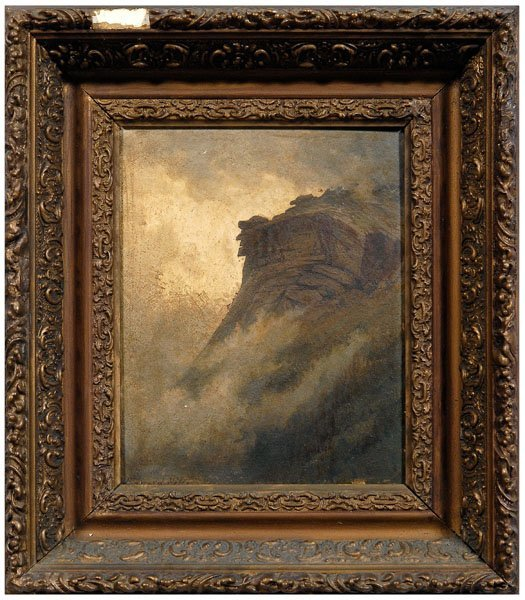 169: Edward Hill painting
