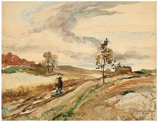 171: Andrew Wyeth watercolor