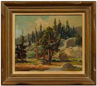 187: Jack Wilkinson Smith painting