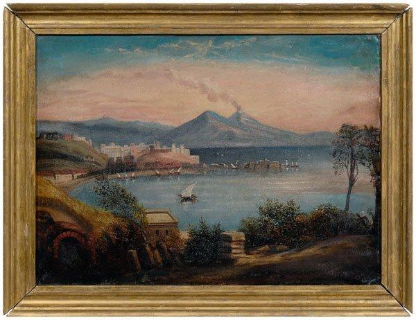 593: Italian landscape painting,