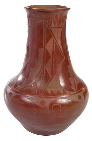 Tonita Roybal Redware Jar