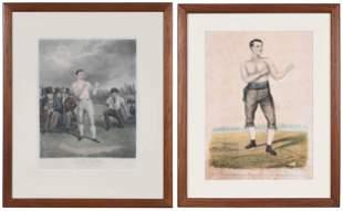 Two Boxing Prints