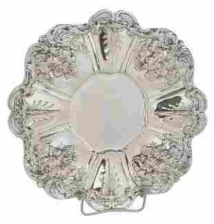 Francis I Sterling Round Tray