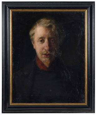 British or Continental School Portrait
