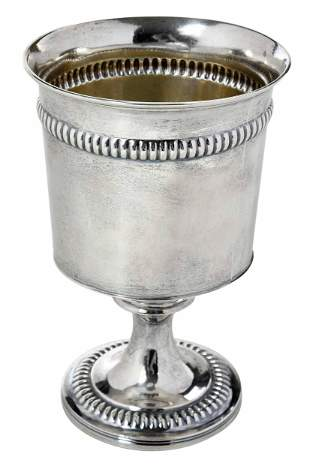 George III English Silver Goblet