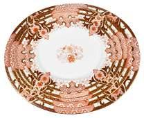 Five Royal Crown Derby Imari Porcelain Platters
