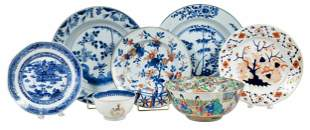 Seven Pieces of Chinese and British Porcelain