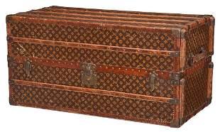 Louis Vuitton Wardrobe Steamer Trunk