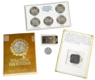 Assorted Group of Exonumia: Tokens, Medals